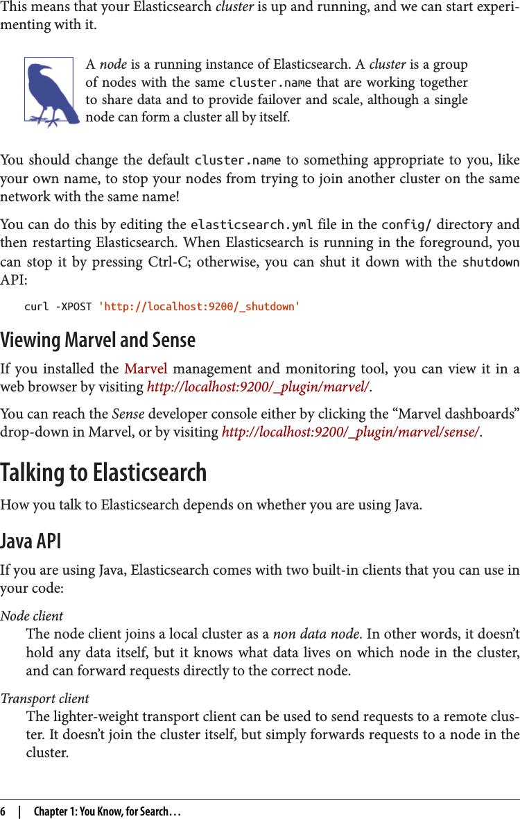 Elasticsearch Api Java