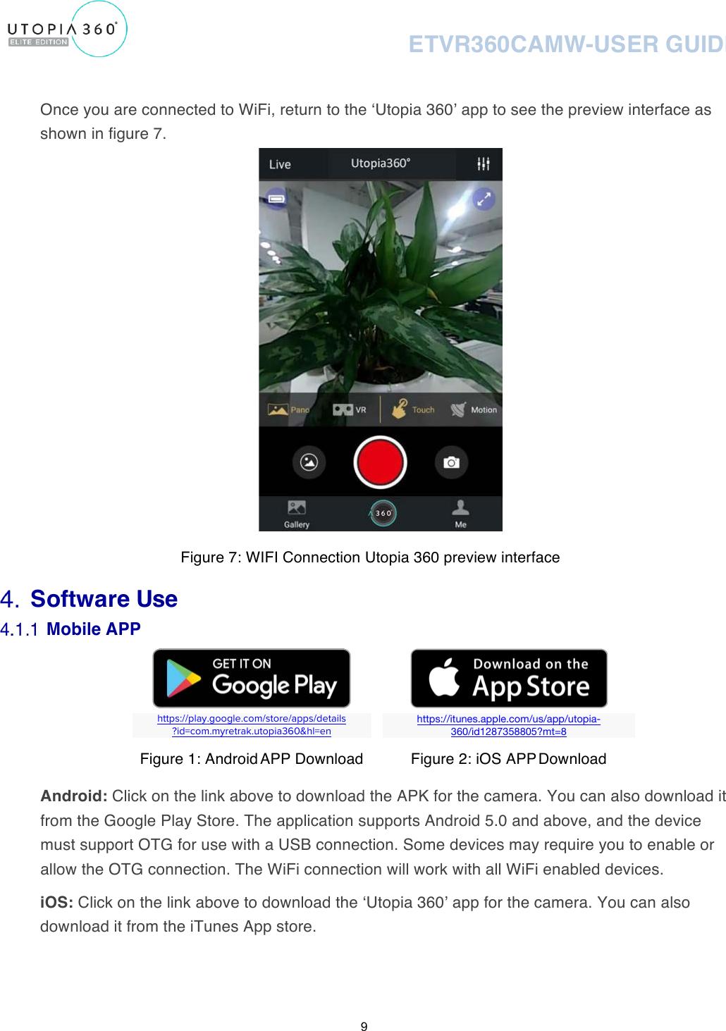 WiFi 360° Camera Manual_2x MANUAL ETVR360CAMW User Guide PRINT