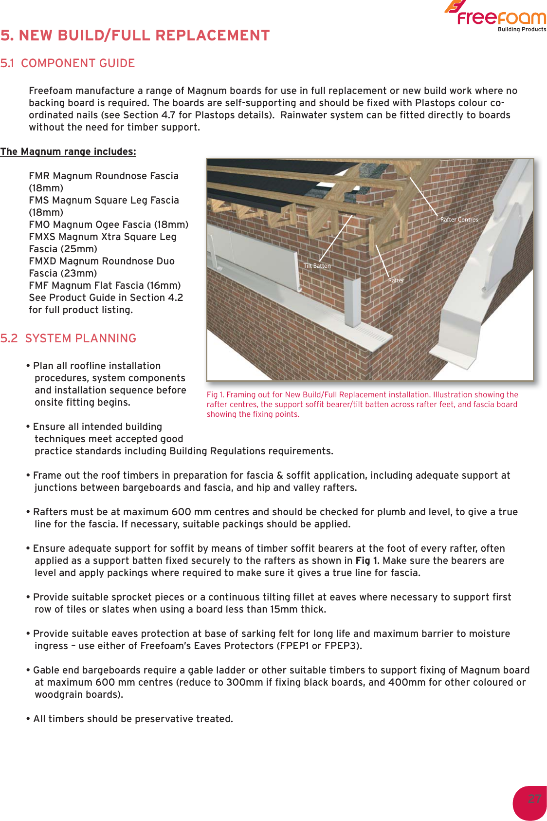 Technical Manual 2011 LOW Freefoam Specification