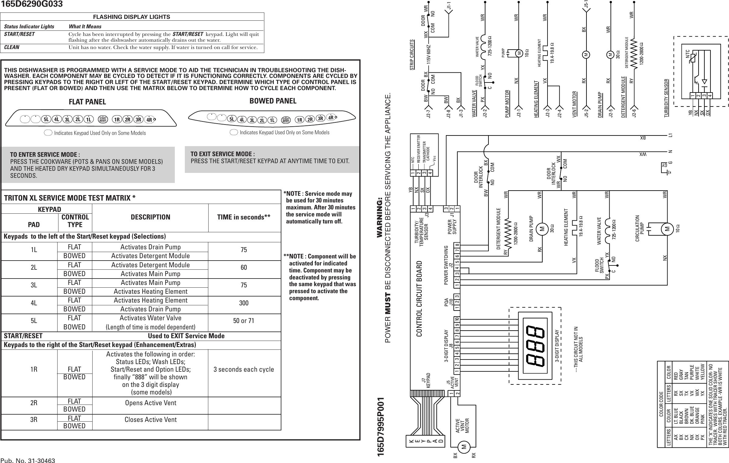 913 07 165d7996p001 Ge Dishwasher Mini Manual 31 30463