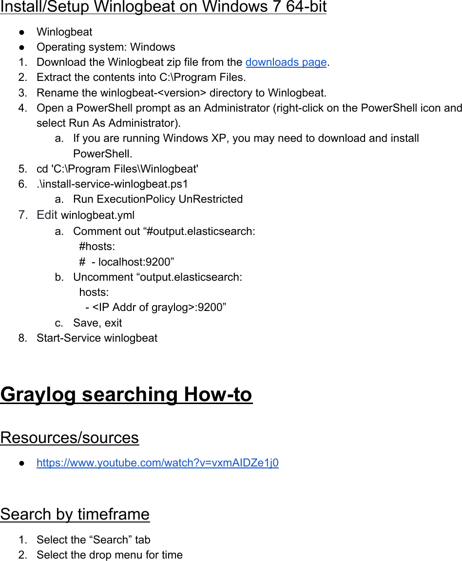 Graylog Hitchhiker's Guide To The Galaxy