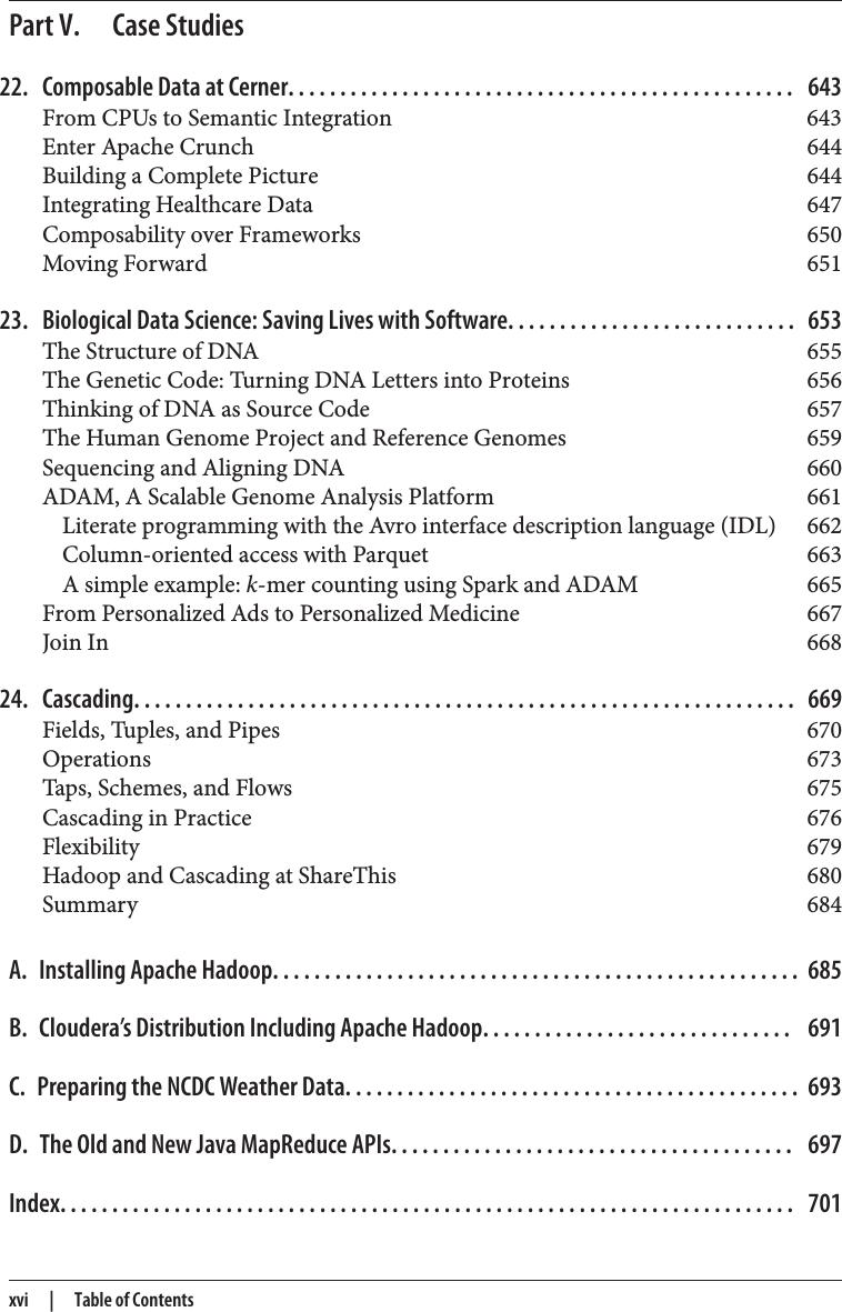 Hadoop: The Definitive Guide Hadoop The Definitive Guide 4 edition A