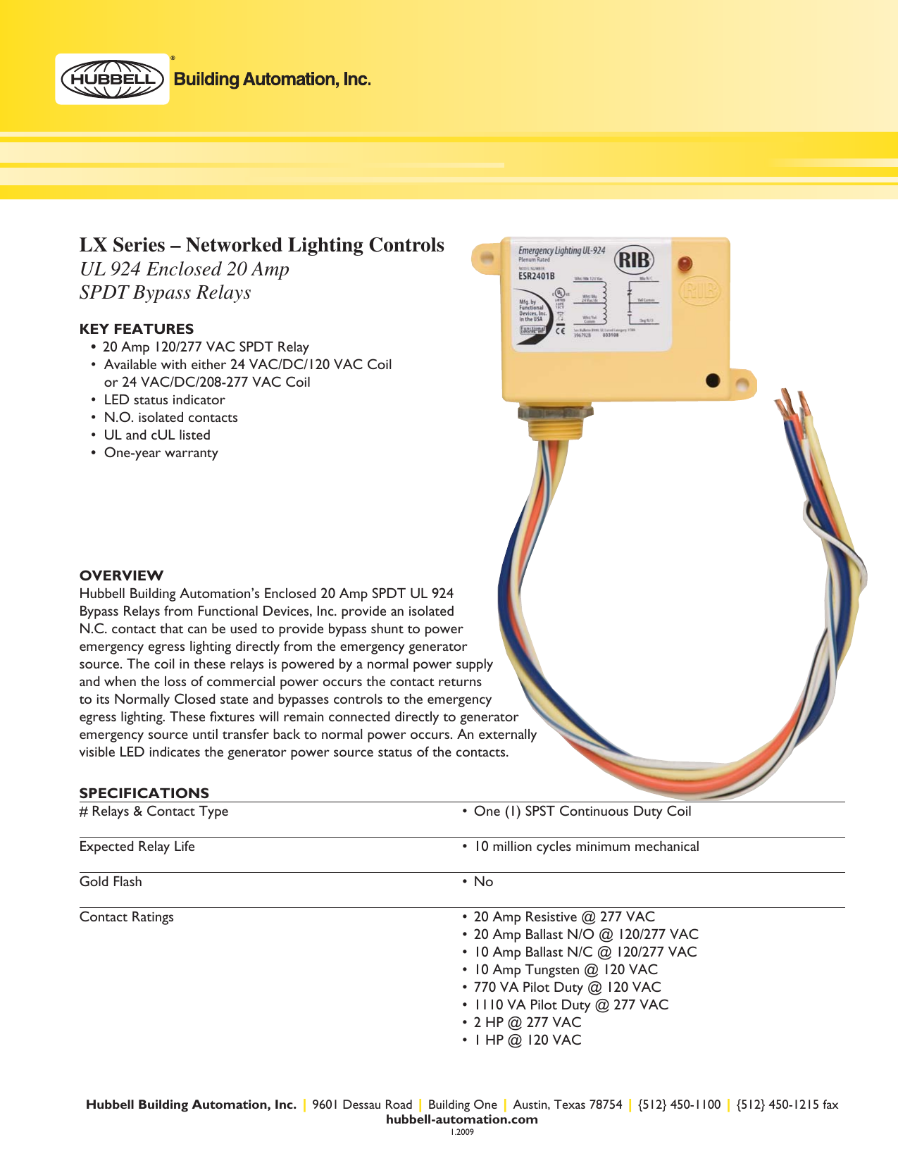 Technical Bulletin Emergency Lighting And Ul924 Manual Guide