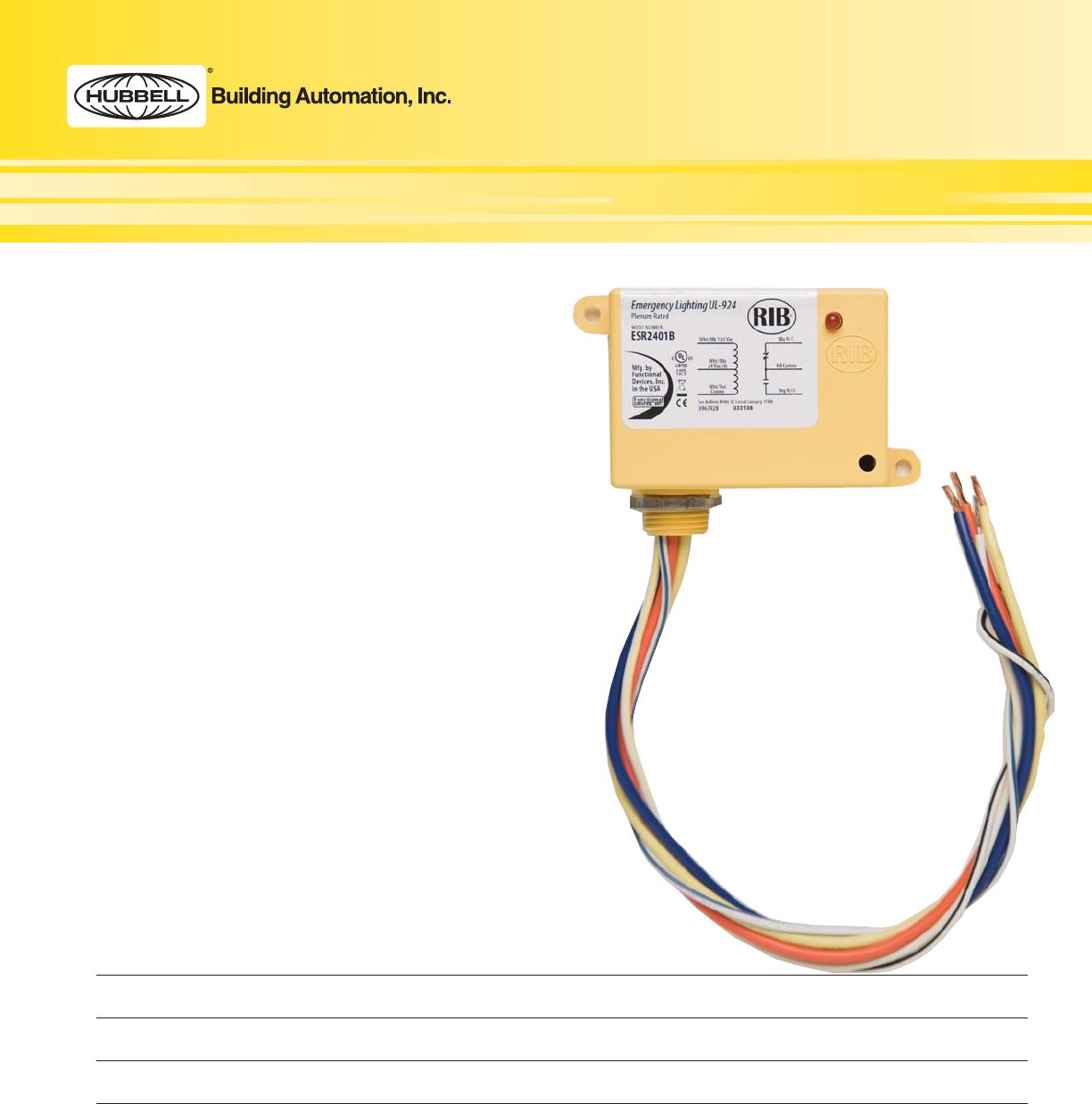 UL924cutsheet2009 Hba Ul924 Spec on ul 924 transfer relay, rib relay diagram, ul 924 bypass relay,