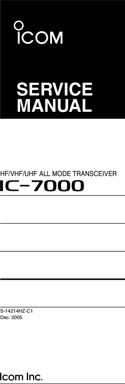 Icom Sp 21 User Guide