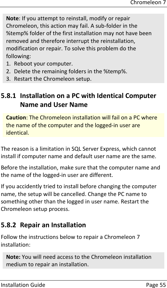Installation Guide Chromeleon 7 2 6 User Manual