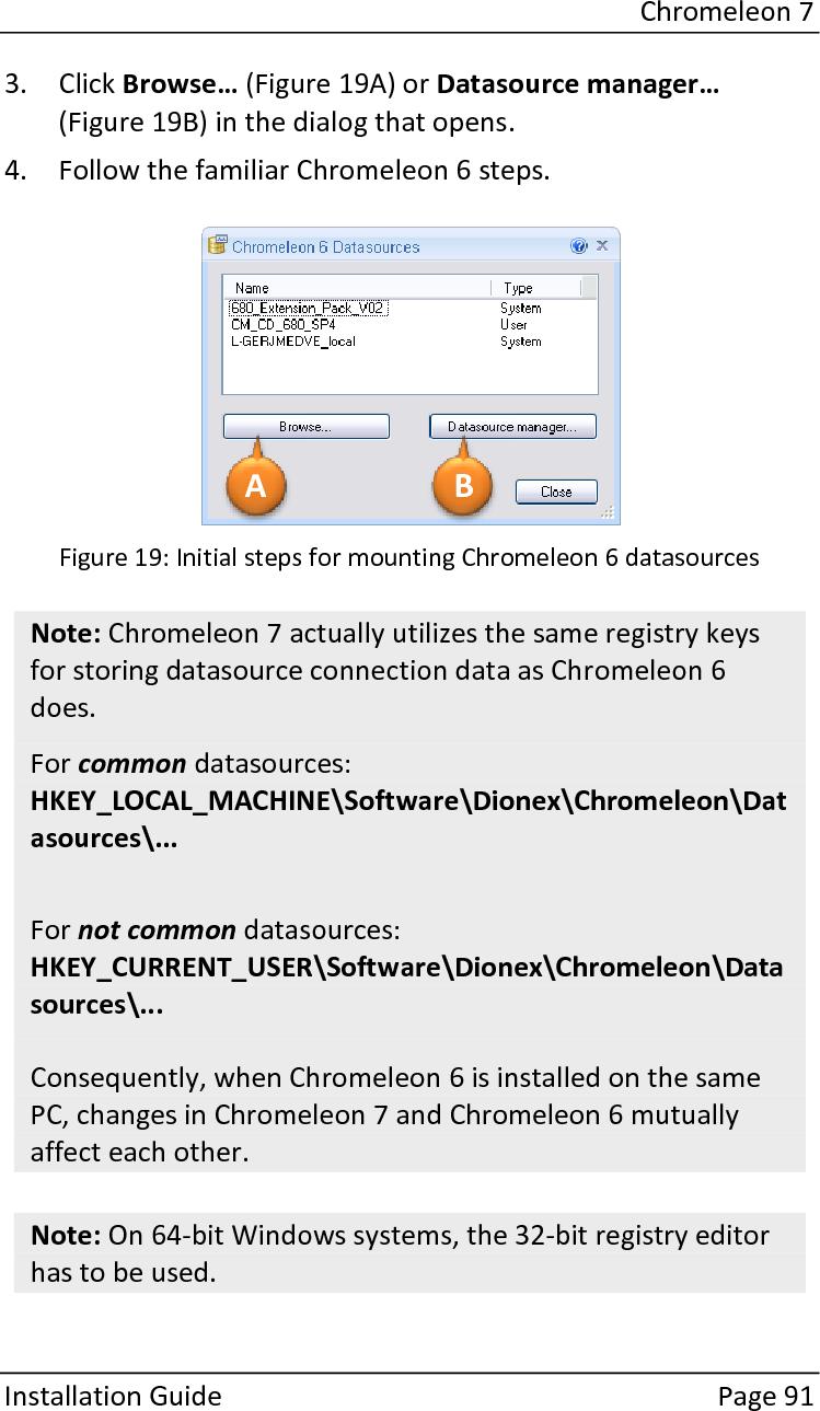 Installation Guide Chromeleon 7 2 Sr5 Pdf User Manual
