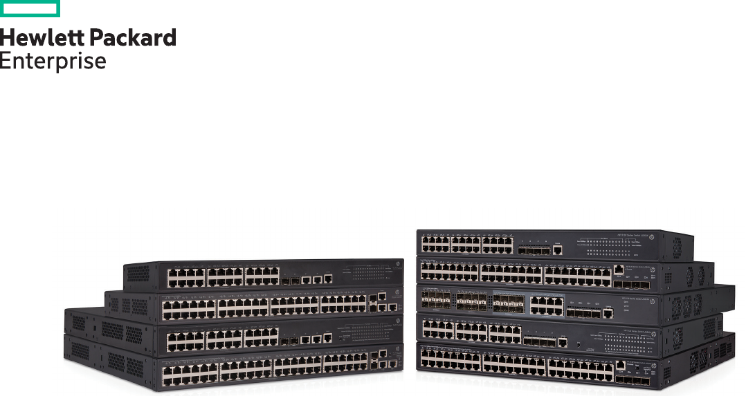 HPE 5130 EI Switch Series Data Sheet Instruction
