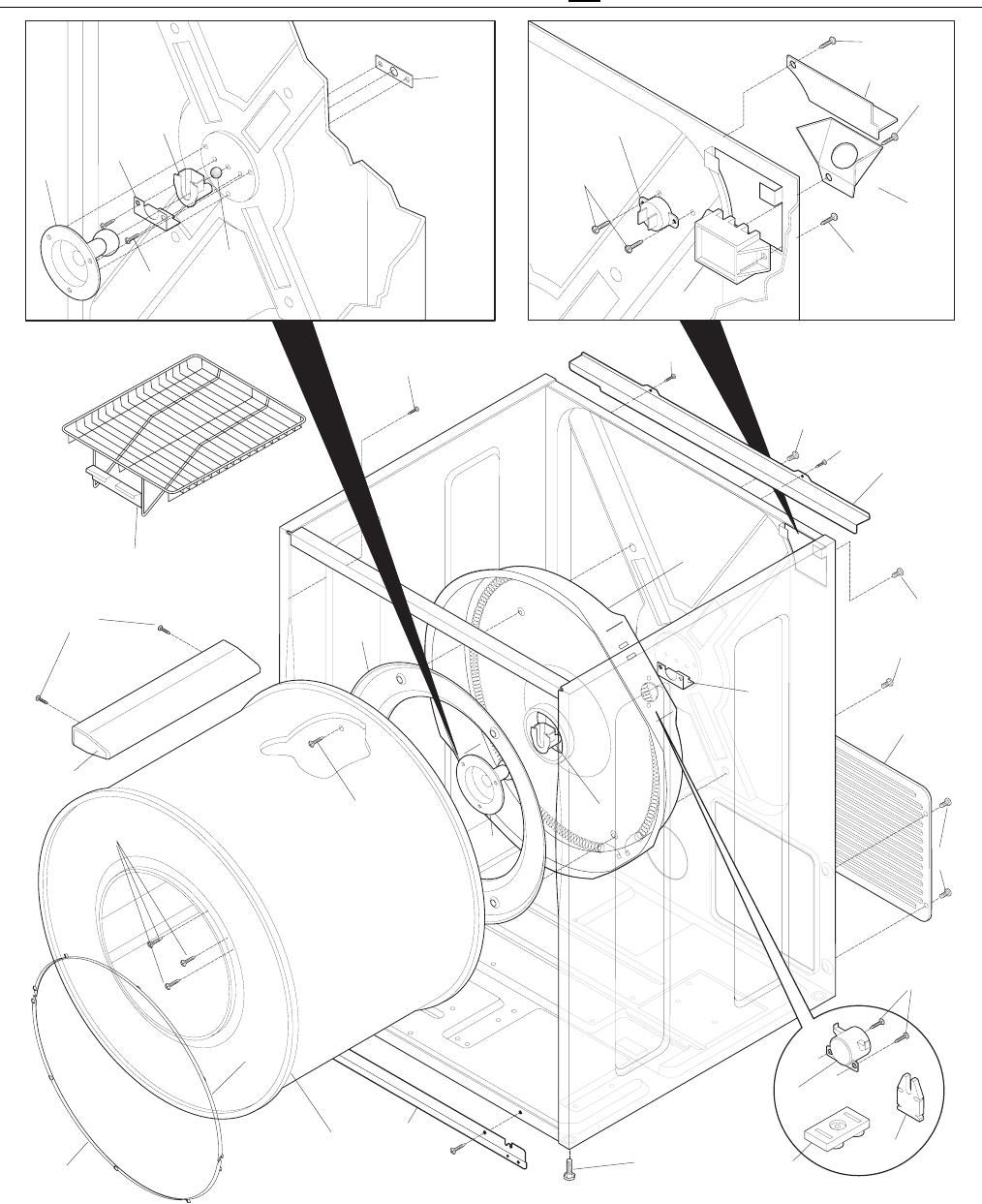 34 Frigidaire Dryer Parts Diagram
