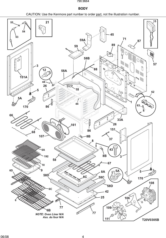 Frigidaire Electric Range Parts Manual Guide