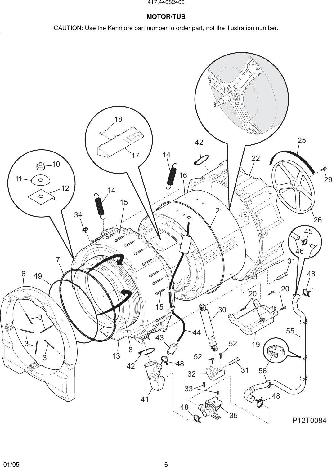 To Begin A Parts Catalog Click Load Contents In The Top Menu Bar Frigidaire Washer Schematic Page 6 Of 9