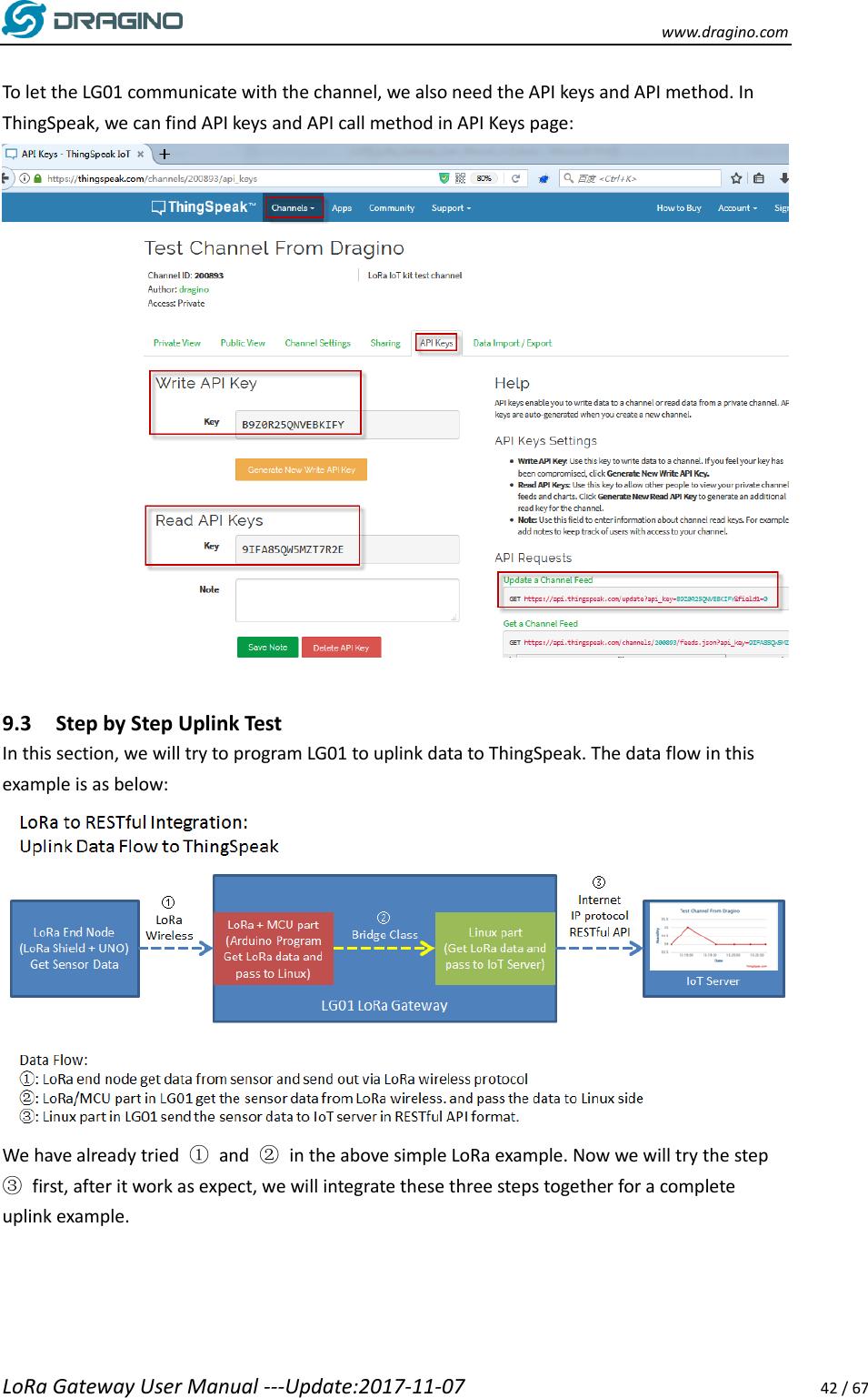LG01 Lo Ra Gateway User Manual