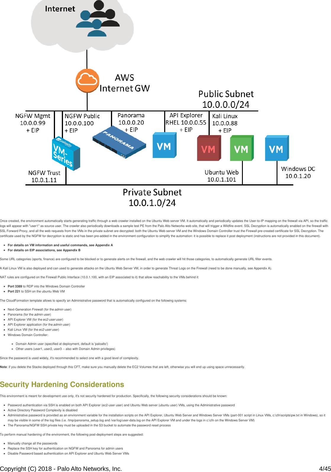 Palo Alto Networks Application Framework Lab Guide
