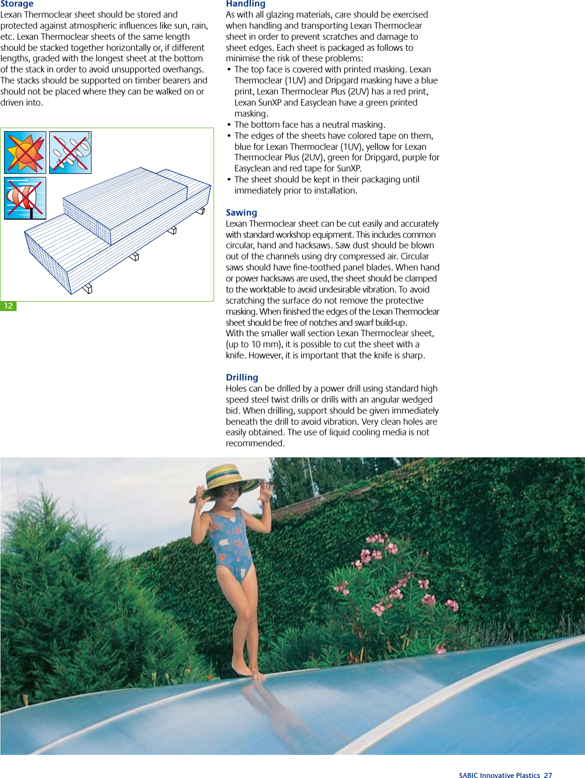 Lexan Thermoclear Technical Manual