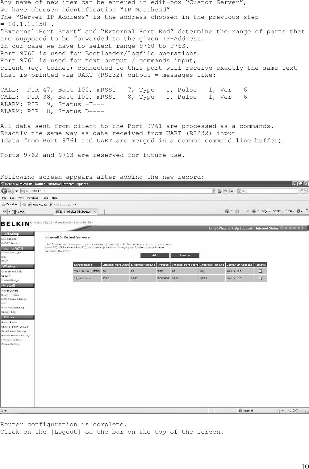 Lumlgmt434 IP Masthead_configuration User Manual