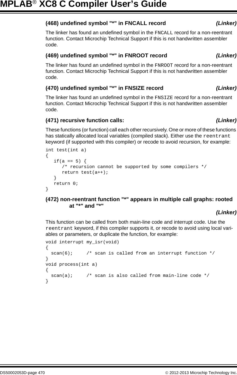 Xc8 Sample Code