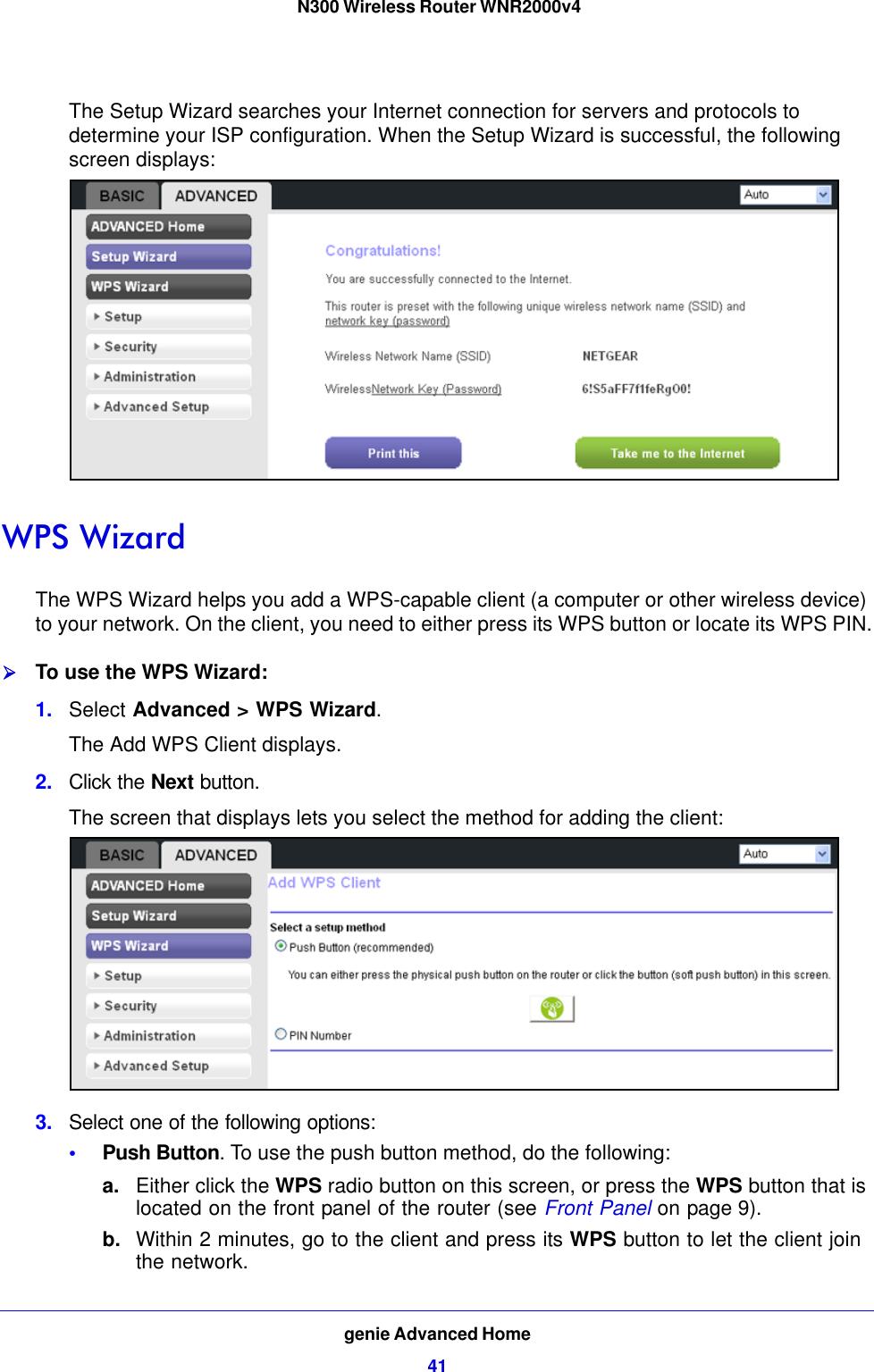 N300 Wireless Router WNR2000v4 User Manual Netgear WNR 2000v4