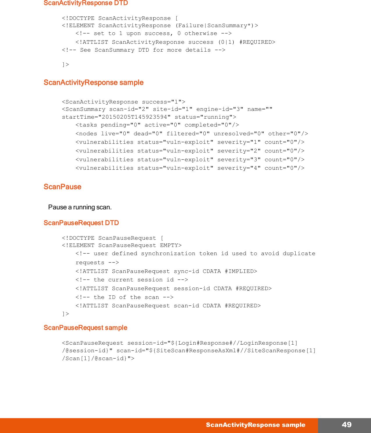 My Nexpose API Guide