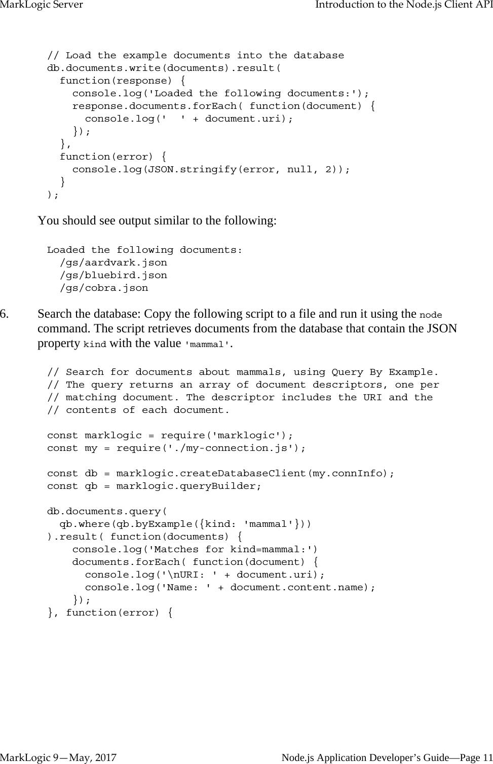 Node js Application Developer's Guide Node JS Dev