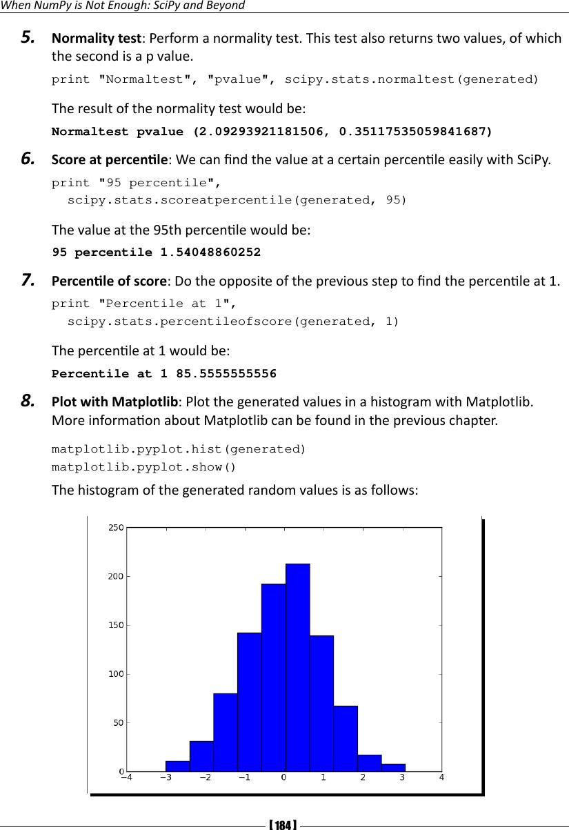 Num Py 1 5 Python Based Beginners Guide Free Pdf Book