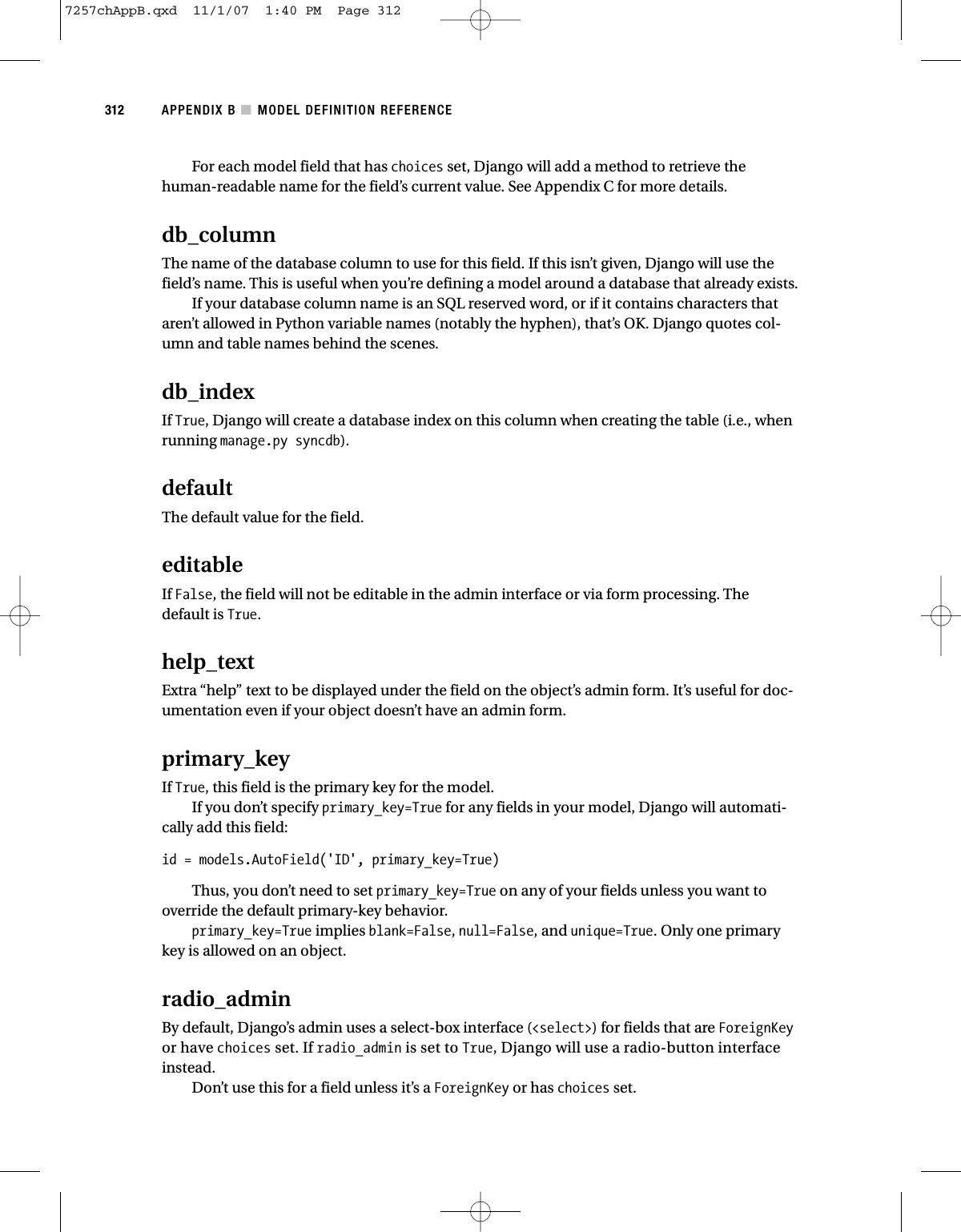 Python The Definitive Guide To Django Apress