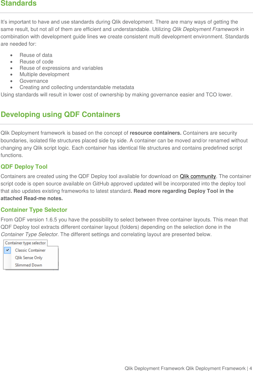 Qlik Deployment Framework Sense Development Guide