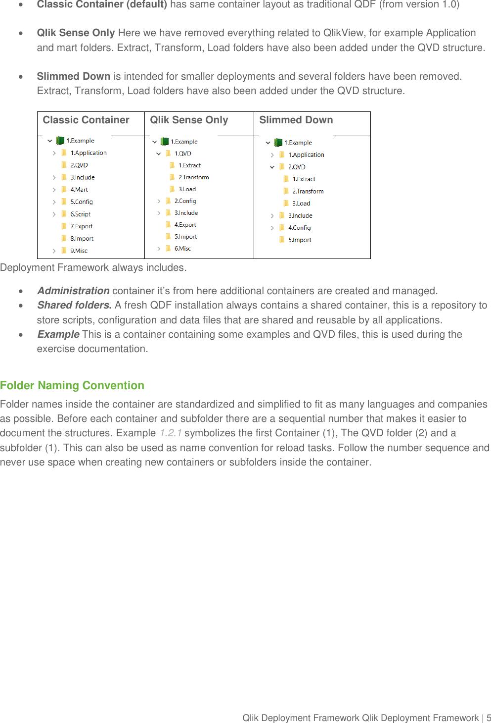 Qlik Deployment Framework Sense Development Guide