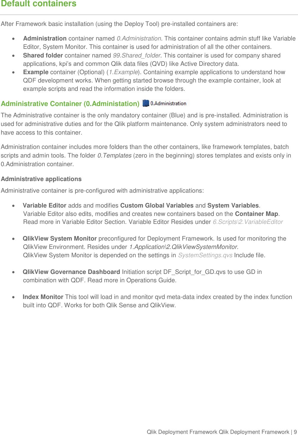 Qlik Deployment Framework View Getting Started Guide