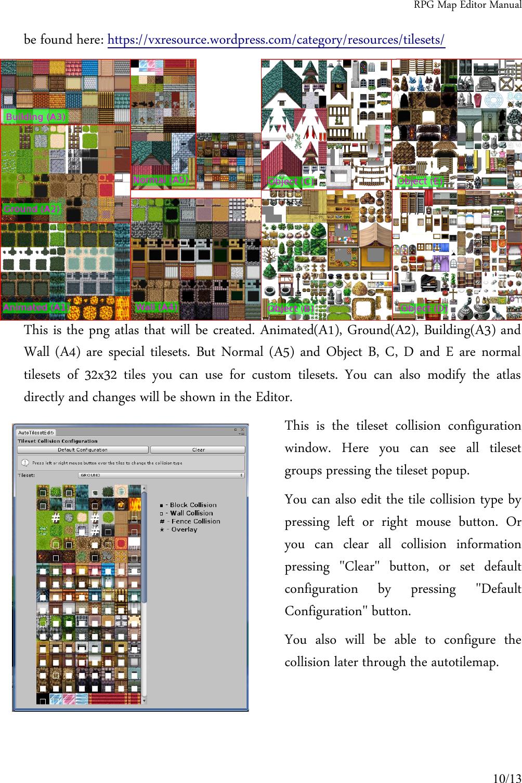 RPG Map Editor Manual