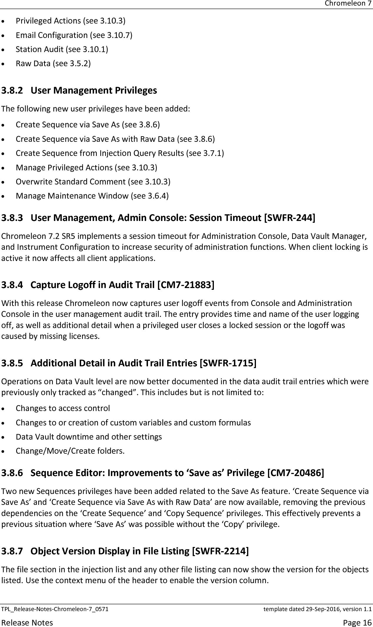 Release Notes Chromeleon 7 2 Sr5 Pdf User Manual