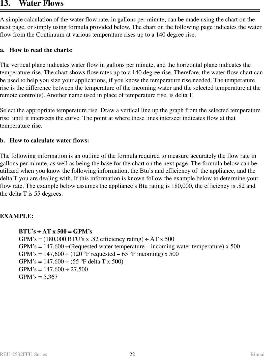 REU 2532 FFU Service Manual 08 21 03 pmd Rinnai