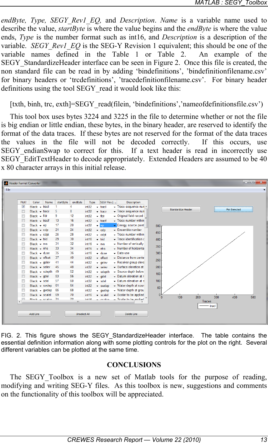 New MATLAB Functions For Reading, Writing And Modifying SEG Y Files