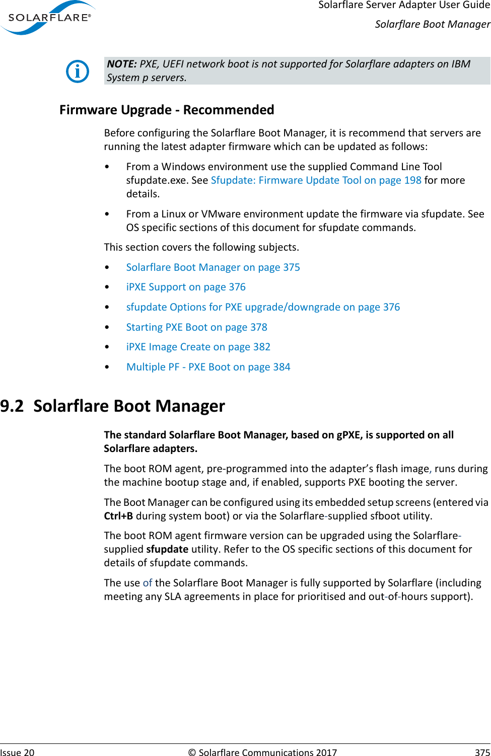 Solarflare Server Adapter User Guide SF 103837 CD 20 S