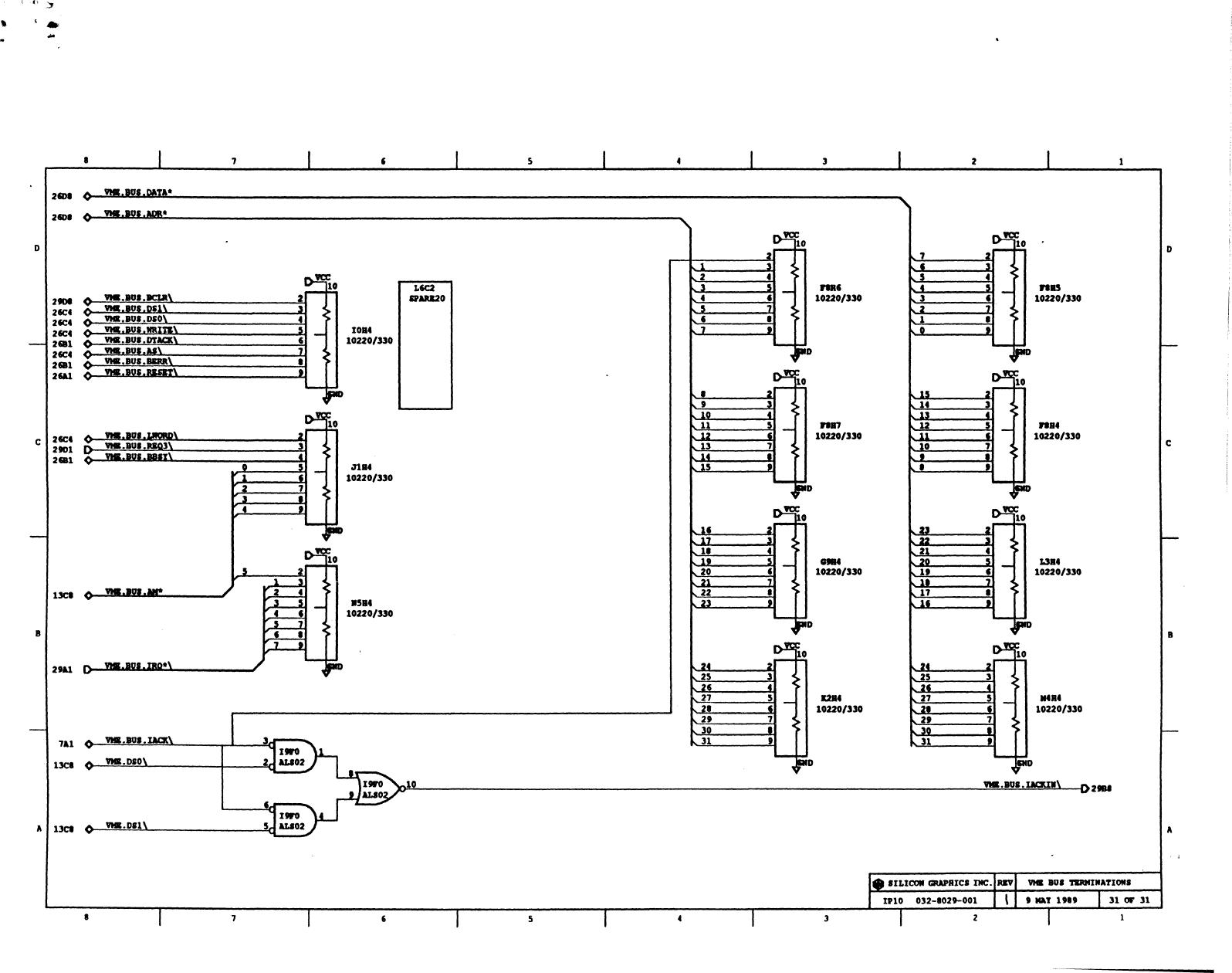 SGI_IP 10_Schematic SGI IP 10 Schematic on