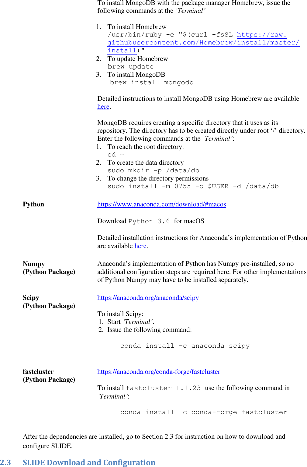 Mac OS Installation Guide