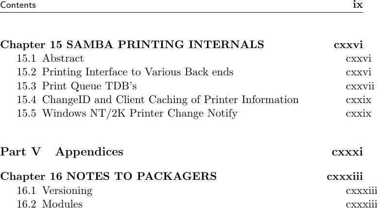 Samba3 Developers Guide