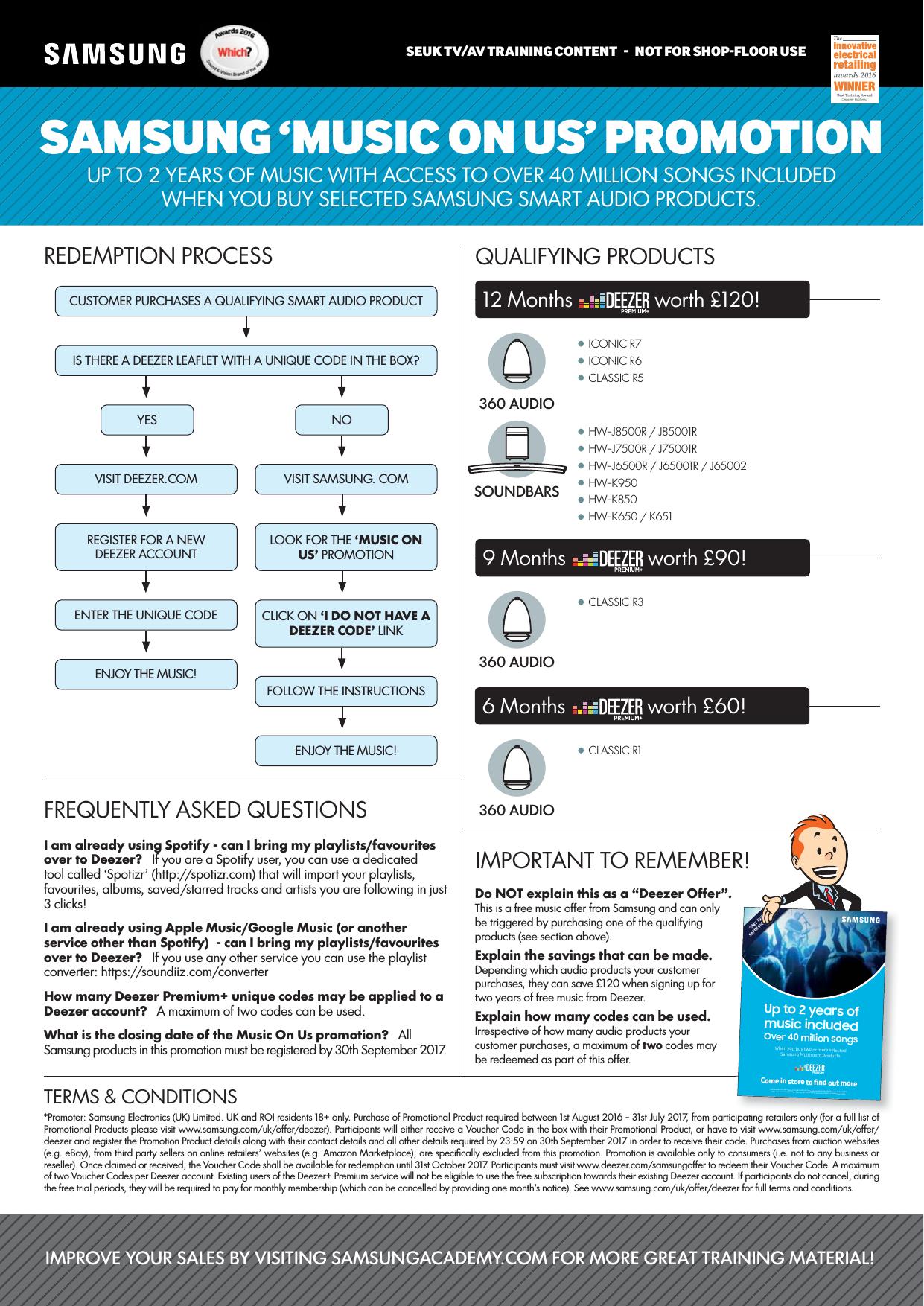 Samhwk950 K950_SB_ProductSheet_TVAVTraining_Aug2016 User Manual