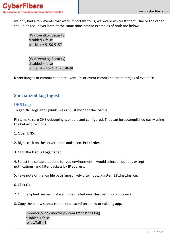 Splunk Guide V1 0