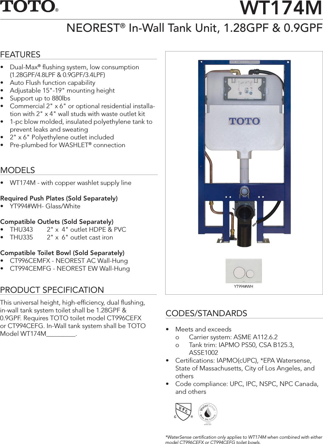 ss 01244 wt174m rh usermanual wiki Universal Toilet Kit Future Toilet