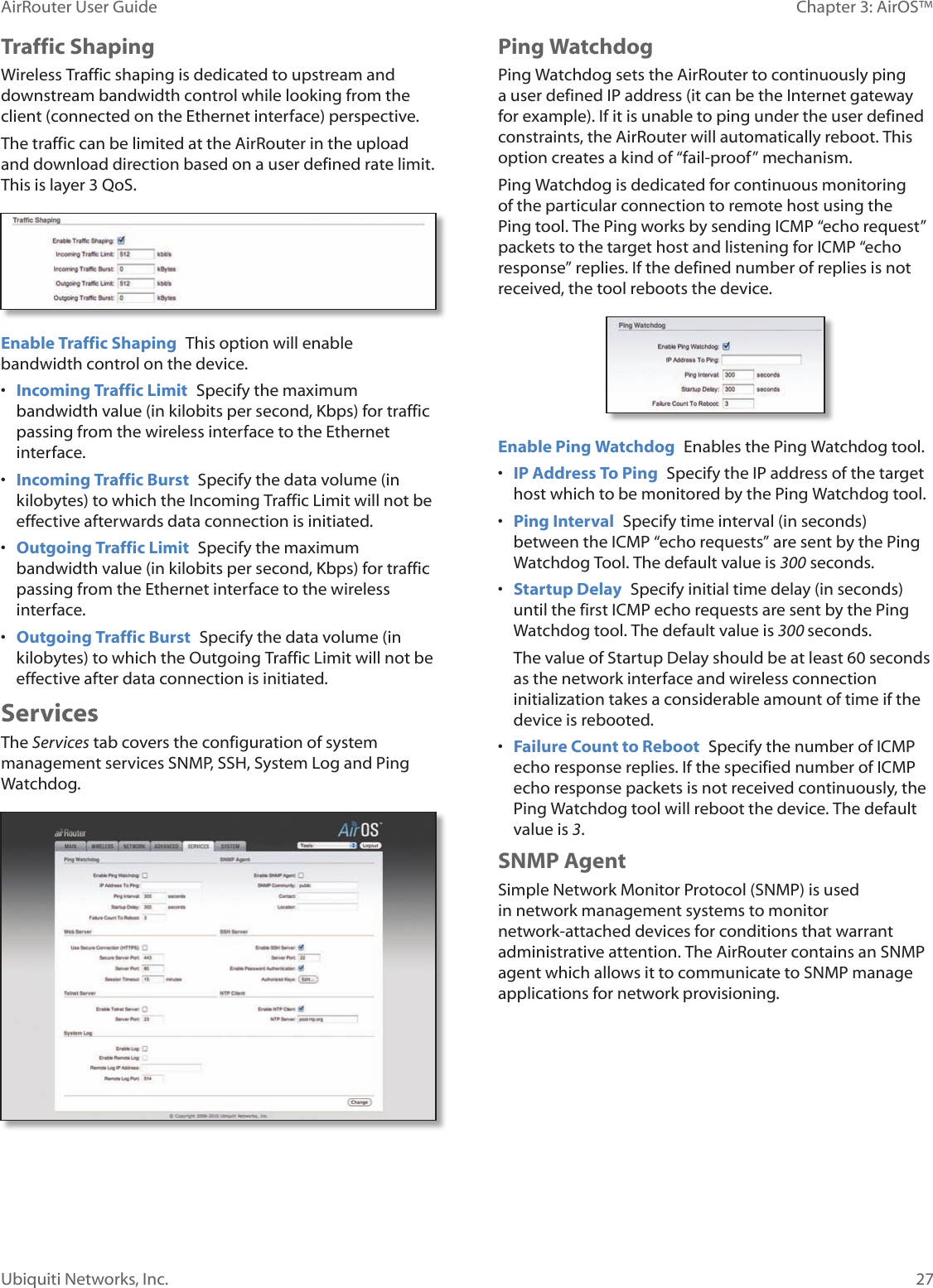 Ubiquiti Air Router manual