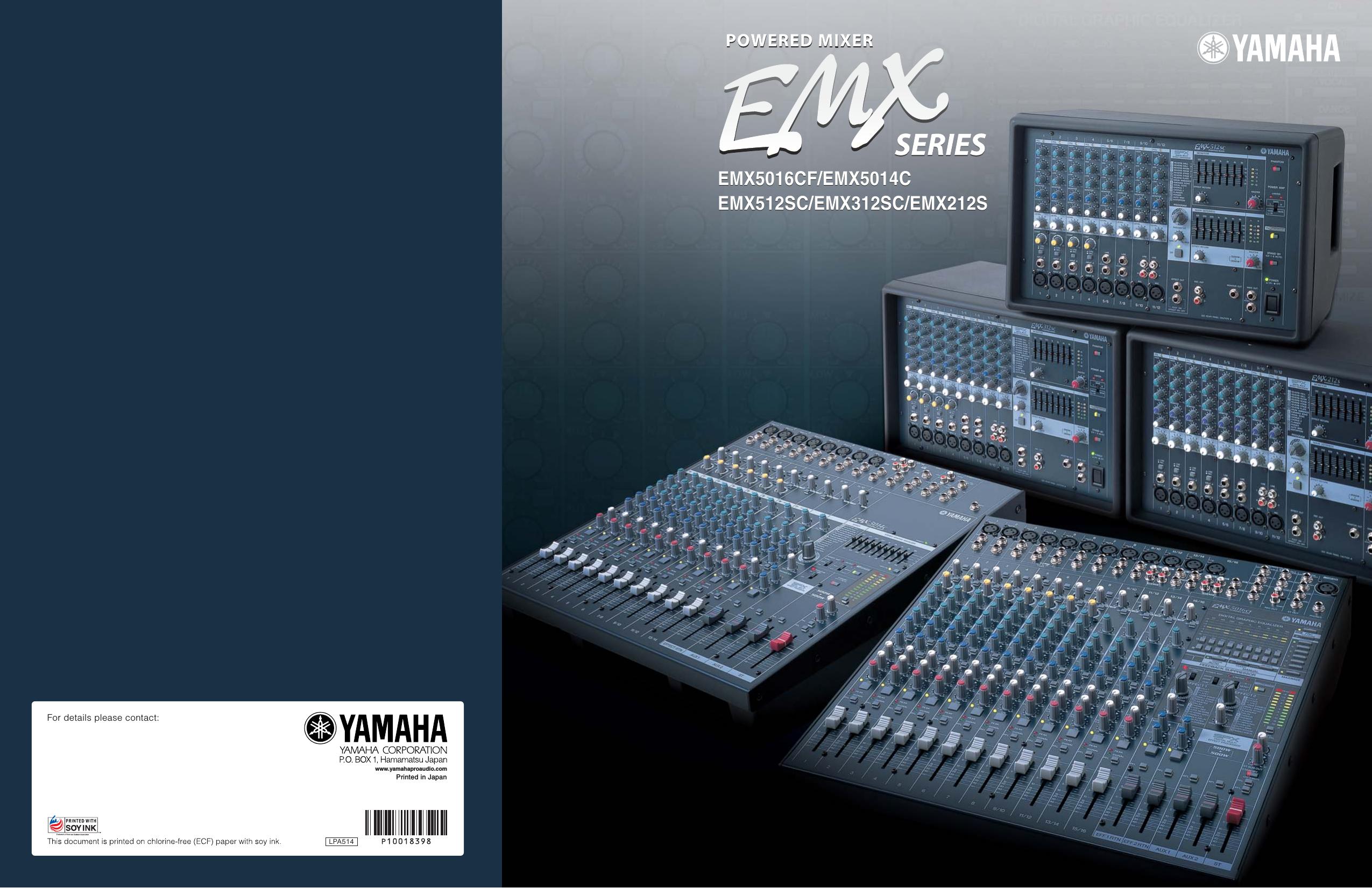 Yamemx5016Cf User Manual
