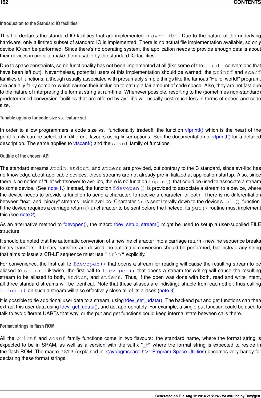 Avr libc user manual 1 8 1