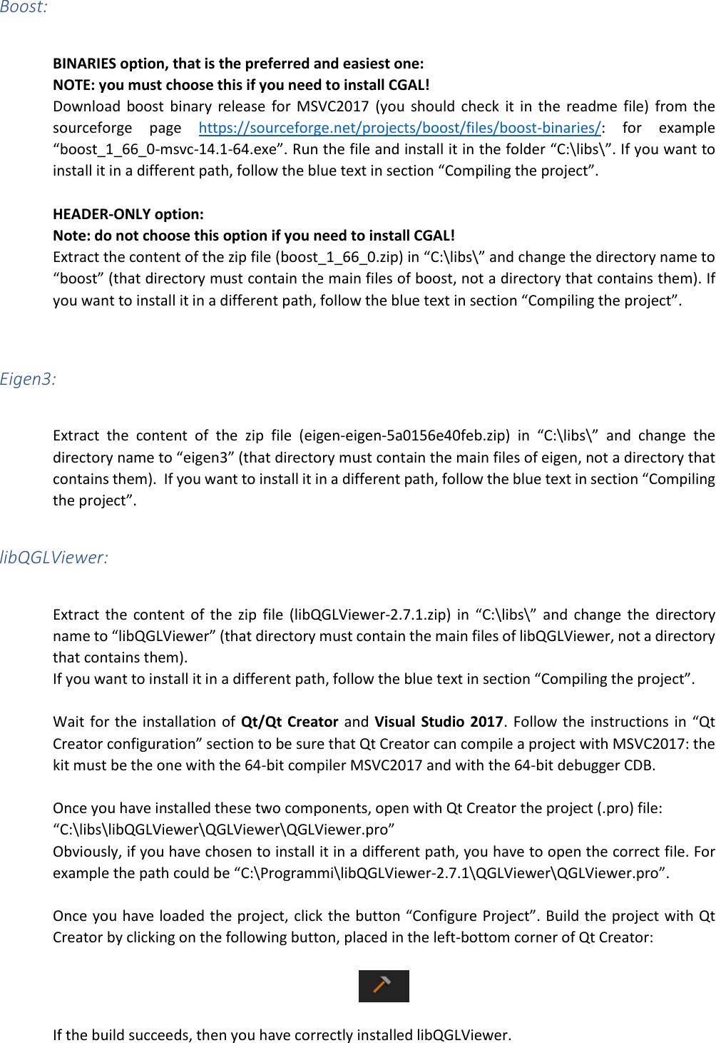 Cg3lib Windows Installation Guide