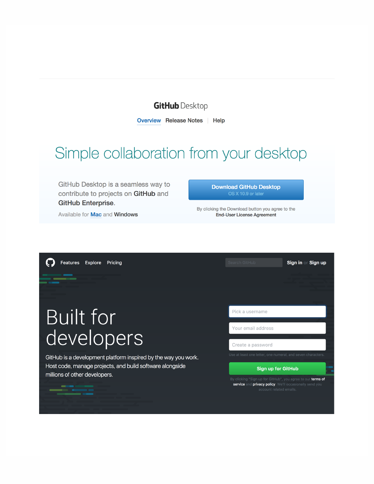 Download github desktop for mac desktop