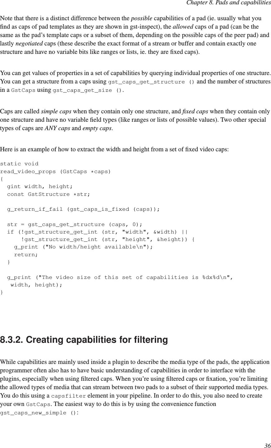 Gstreamer Application Manual