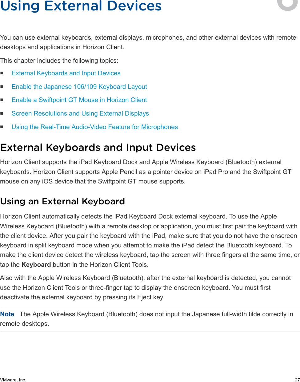 VMware Horizon Client For IOS User Guide Horizon  4 7 I OS 47