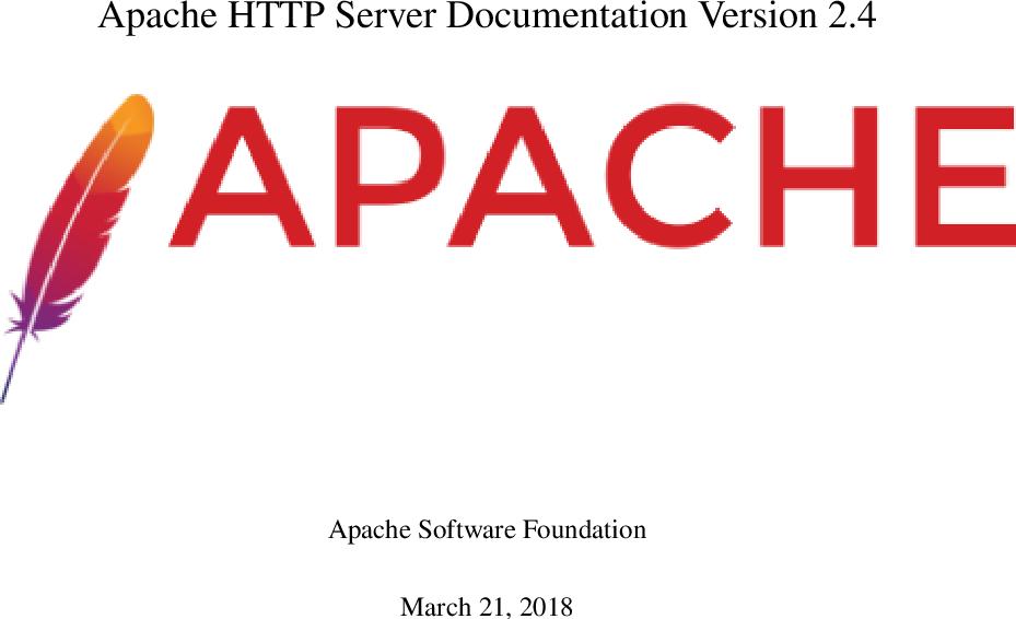 Apache Server Ation Version 2 4 D docs 2 4 33 en