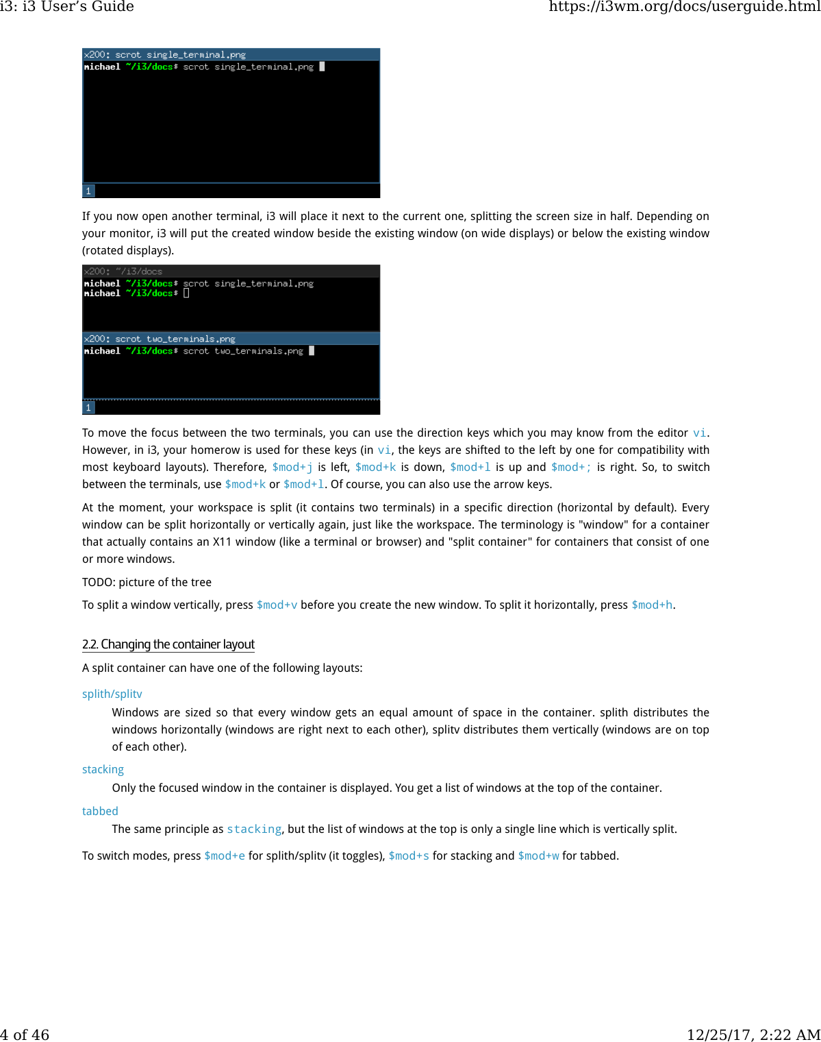 I3 User Guide