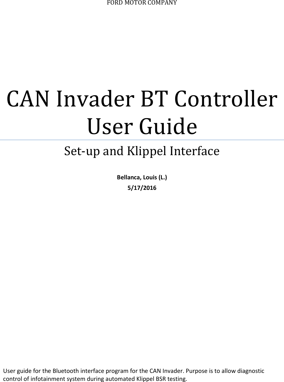 How To Set Up CAN Invader And UD100 Bluetooth Adapter For