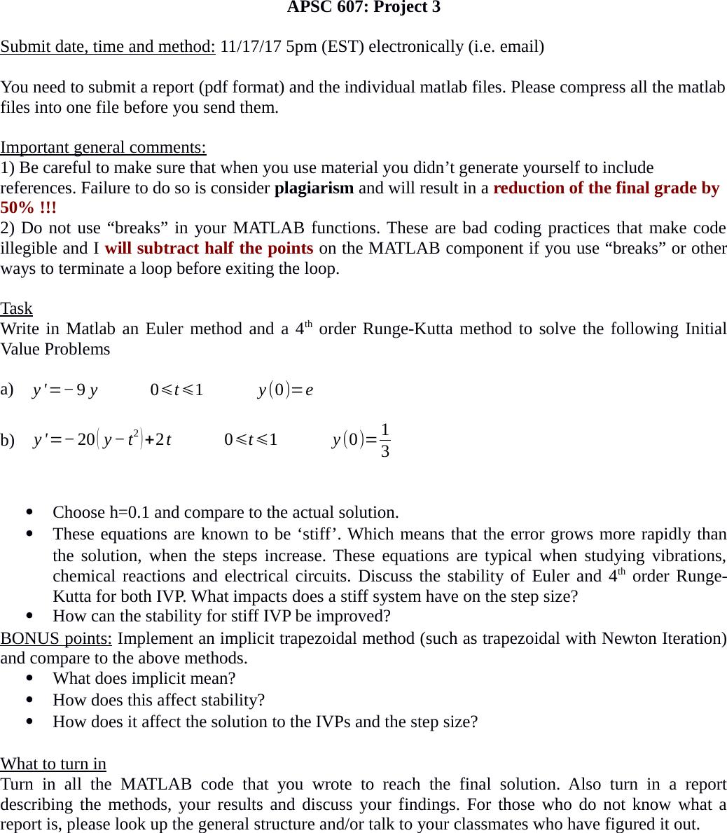Matlab Code Files